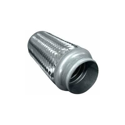 Weld-on Exhaust Flexi Tube Joint Flexible Pipe Repair 100MM LONG 63MM ID